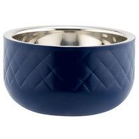 Bon Chef Diamond Collection Cold Wave 1 Qt. Cobalt Blue Triple Wall Bowl