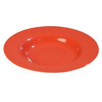 Carlisle 3303052 Sierrus 12 inch Sunset Orange Chef Salad / Pasta Bowl - 12/Case