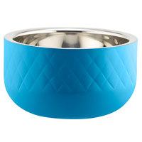 Bon Chef Diamond Collection Cold Wave 1 Qt. Caribbean Blue Triple Wall Bowl