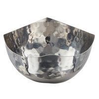 American Metalcraft SBH450 9.5 oz. Round Hammered Stainless Steel Serving Bowl