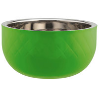 Bon Chef Diamond Collection Cold Wave 7 Qt. Lime Green Triple Wall Bowl