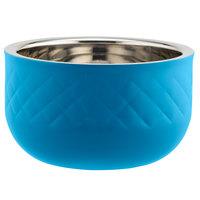Bon Chef Diamond Collection Cold Wave 1.7 Qt. Caribbean Blue Triple Wall Bowl