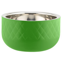 Bon Chef Diamond Collection Cold Wave 1 Qt. Lime Green Triple Wall Bowl