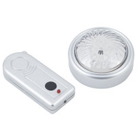 Bon Chef 9329LEDWR 4 inch Single Dome Round LED Light with Remote Control