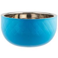 Bon Chef Diamond Collection Cold Wave 7 Qt. Caribbean Blue Triple Wall Bowl