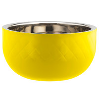 Bon Chef Diamond Collection Cold Wave 7 Qt. Yellow Triple Wall Bowl