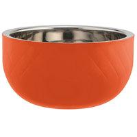 Bon Chef Diamond Collection Cold Wave 7 Qt. Orange Triple Wall Bowl