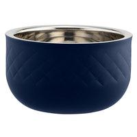 Bon Chef Diamond Collection Cold Wave 1.7 Qt. Cobalt Blue Triple Wall Bowl