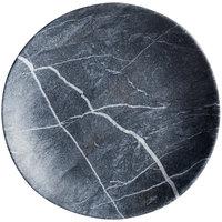 Carlisle 5310672 Ridge 9 inch Soapstone Melamine Salad Plate - 12/Case