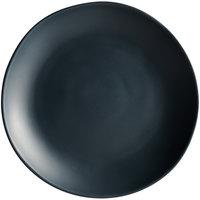 Carlisle 5310738 Ridge 10 1/2 inch Slate Melamine Dinner Plate - 12/Case
