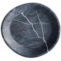 Carlisle 5310172 Ridge 10 inch Soapstone Melamine Coupe Plate - 12/Case
