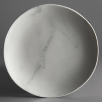 Carlisle 5310637 Ridge 9 inch Marble Melamine Salad Plate - 12/Case