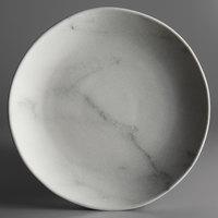 Carlisle 5310737 Ridge 10 1/2 inch Marble Melamine Dinner Plate - 12/Case