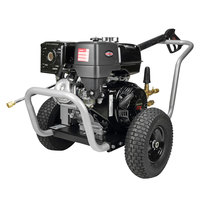 Simpson 60205 Water Blaster Pressure Washer with Honda Engine and 50' Hose - 4200 PSI; 4.0 GPM