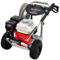 Simpson 60689 Aluminum Series Pressure Washer with Honda Engine and 35' Hose - 3400 PSI; 2.5 GPM