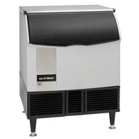 Ice-O-Matic ICEU300HW 30 inch Water Cooled Undercounter Half Dice Cube Ice Machine with 97 lb. Bin - 115V; 356 lb.