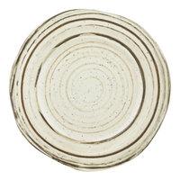 Elite Global Solutions B154090-BCHD Doheny 9 1/8 inch Beach Design Irregular Round Melamine Plate - 6/Case
