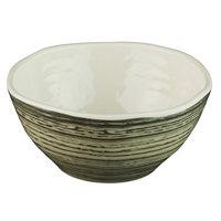 Elite Global Solutions B269049-BCHD Doheny 11 oz. Beach Design Irregular Round Melamine Bowl - 6/Case