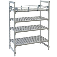 Cambro CPR2460151 Full Shelf Rail Kit for 24 inch x 60 inch Cambro Camshelving® Premium Stationary or Mobile Units