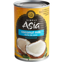 Simply Asia 13.66 oz. Unsweetened Coconut Milk - 24/Case