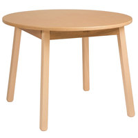 Whitney Brothers WB0179 28 inch Round Wood Children's Table