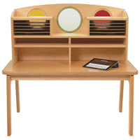 Whitney Brothers CH0200 42 1/2 inch x 26 inch x 40 inch Children's Wood Porthole Desk