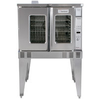 Garland MCO-GS-10 Liquid Propane Single Deck Standard Depth Full Size Convection Oven with Digital Controls - 60,000 BTU