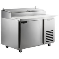 Beverage-Air DP46HC 46 inch 1 Door Refrigerated Pizza Prep Table