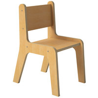 Whitney Brothers WB1735 Children's Economy Chair - 17 inch x 13 inch x 23 1/2 inch