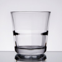 Anchor Hocking 90252 Clarisse 10 oz. Stackable Rocks / Old Fashioned Glass   - 24/Case