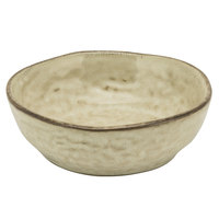 10 Strawberry Street FRZ-4CPBWL-BG Firenza 6 oz. Beige Porcelain Coupe Snack Bowl - 24/Case