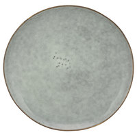 10 Strawberry Street FRZ-4SS-BLU Firenza 8 5/16 inch Blue Porcelain Salad Plate - 12/Case