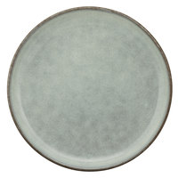 10 Strawberry Street FRZ-5SS-BLU Firenza 4 3/4 inch Blue Porcelain Bread and Butter Plate - 24/Case