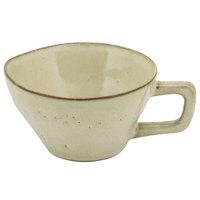10 Strawberry Street FRZ-9C-BG Firenza 5 oz. Beige Porcelain Cup with Handle - 24/Case