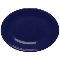 Homer Laughlin 458105 Fiesta Cobalt Blue 13 5/8 inch Platter - 12/Case