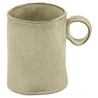 10 Strawberry Street FRZ-MUG-BG Firenza 13.7 oz. Beige Porcelain Mug with Handle - 24/Case