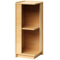 Whitney Brothers WB1790 Preschool Storage Corner Cabinet - 11 11/16 inch x 11 3/4 inch x 30 inch