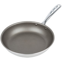 Vollrath 67010 Wear-Ever 10 inch Non-Stick Fry Pan with PowerCoat2 and TriVent Chrome Plated Handle