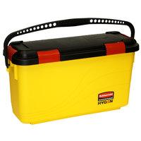 Rubbermaid FGQ95088YEL HYGEN Yellow Microfiber Charging Bucket for 18 inch Mop Pads