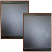 H. Risch Inc. TAM-1PV2 Tamarac 8 1/2 inch x 11 inch 1 Panel - 2 View Menu Cover