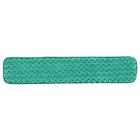 Rubbermaid FGQ42400GR00 HYGEN 24 inch Green Microfiber Dust Mop Pad