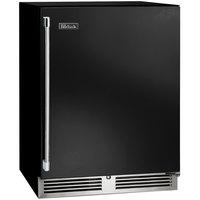 Perlick HB24WS 24 inch Black ADA Compliant Single Door Undercounter Wine Refrigerator