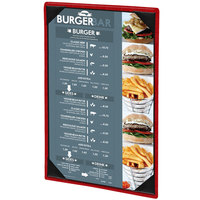 Menu Solutions 810G Slim Line 11 inch x 17 inch Customizable 1 View Menu Cover
