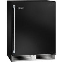 Perlick HD24WS 24 inch Black Shallow Depth Single Door Undercounter Wine Refrigerator