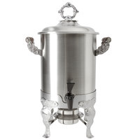 Vollrath 46884 3 Gallon Royal Crest Stainless Steel Coffee Urn