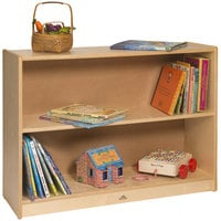 Whitney Brothers WB1409 35 inch x 11 11/16 inch x 26 inch Children's Wood Space Saver Bookcase