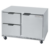 Beverage-Air UCRD48AHC-2-ADA 48 inch Undercounter Refrigerator with 1 Door and 2 Drawers