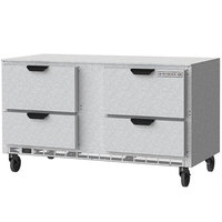Beverage-Air UCRD60AHC-4-ADA 60 inch Undercounter Refrigerator with 4 Drawers