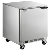 Beverage-Air UCF27AHC-24-ADA 27 inch Undercounter Freezer with Left Hinged Door