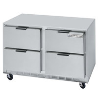 Beverage-Air UCRD48AHC-4-ADA 48 inch Undercounter Refrigerator with 4 Drawers